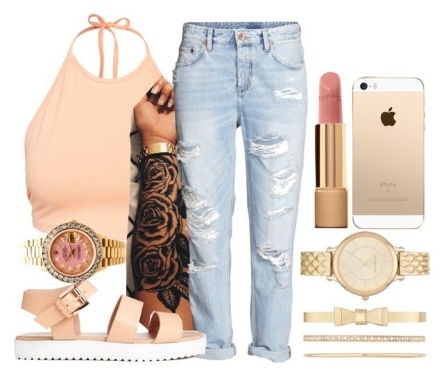 """.FASHION."" by mykail2xx ❤ liked on Polyvore featuring NLY Trend, Liz Claiborne, Chanel and Rolex"