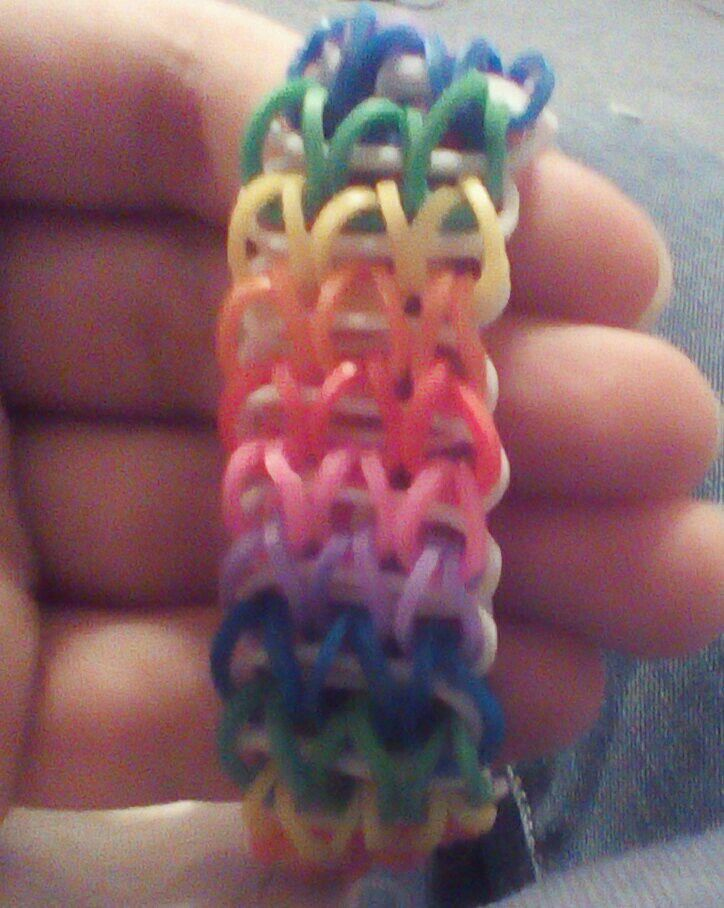 Rainbow Loom Bracelets Fishtail Waterfall Wave Ladde Rain Drop And Triple Single Rainbowloom