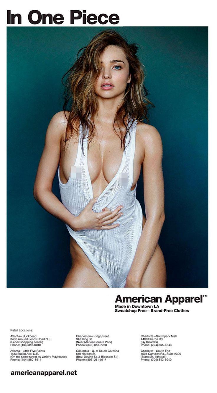 Miranda Kerr - Photos - Controversial American Apparel ads through the years