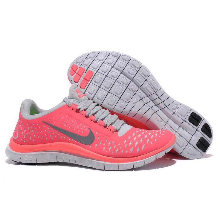 Nike Free Bordeaux Rot Damen