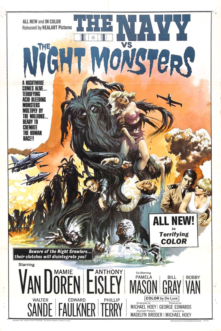 The Navy vs. the Night Monsters (1966, USA) // horror ...