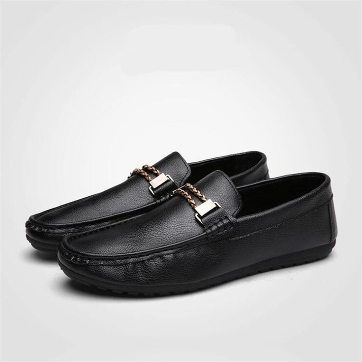 >> Click to Buy << Cheap Men Casual Shoes Soft Leather Driving Shoes Flats Black Brown Color man's Boat Shoes Flat Casual Shoes Moccasines XK121509 #Affiliate
