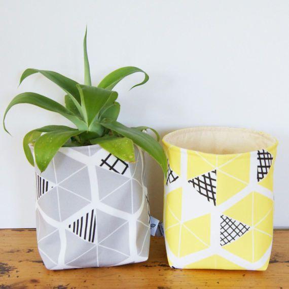 Tessuto secchio o regalo cotone biologico eco friendly