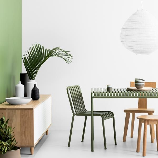 When thinking about using green hues, think also about the existing furnishings and even the available natural light in the space.  While green is a beautiful colour to incorporate into your surroundings, pairing it with light wood and crisp white furnishings will give some reprieve and an overall restfulness to the space.