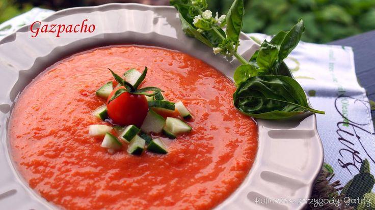 Gazpacho z pieczoną papryką