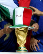 #italia #soccer , italy winner of the 2006 world cup