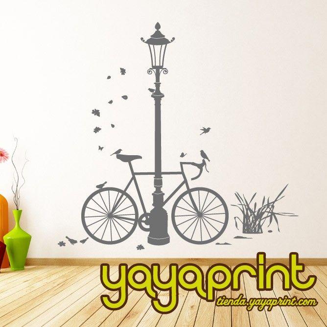 vinilos decorativos madrid barcelona lima espaa per europe bici de carreras con farola vinilos decorativos