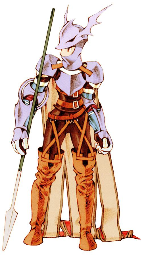 Week 16 - Final Fantasy Tactics - Concept Art Sun - Dragoon Male