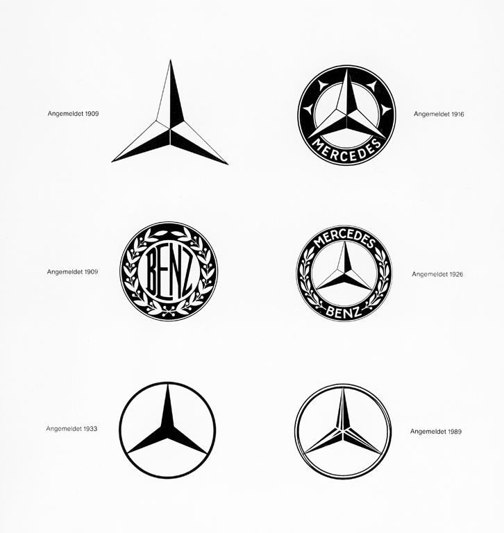 mercedes logo through the years all things mercedes benz pinterest logos mercedes benz and cars