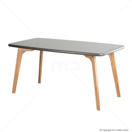 Oslo Dining Table - Graphite Grey