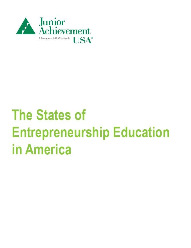 The number of states offering entrepreneurship education programs more than doubled between 2009 to 2015. See if your state is one of them.