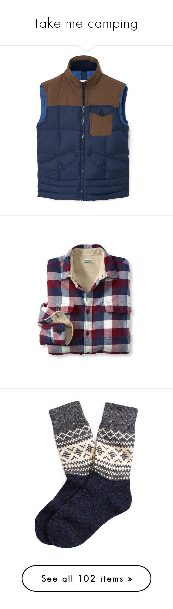"""""""take me camping"""" by croptopkitten ❤ liked on Polyvore featuring men's fashion, men's clothing, men's outerwear, men's vests, mens quilted vest, mens zip vest, mens zipper vest, men's shirts, men's casual shirts and tops"""