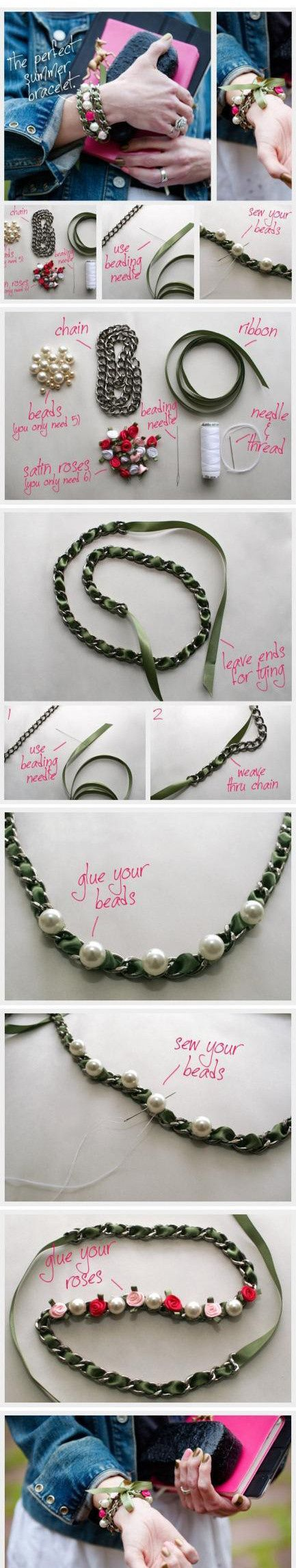 : Ideas, Diy'S, Diy Jewelry, Diy Craft, Diy Bracelet, Summer Bracelets