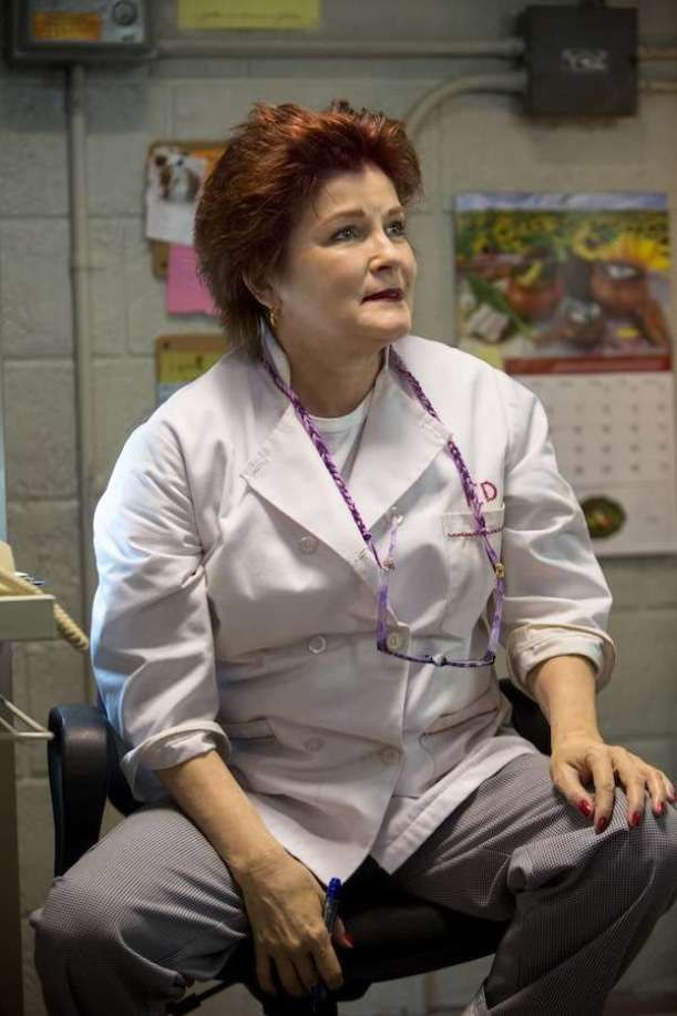 """Loved her in the soap opera """"Ryan's Hope"""" year's ago~""""Red"""" (Kate Mulgrew, aka Capt. Janeway and Regent Lattimer)."""