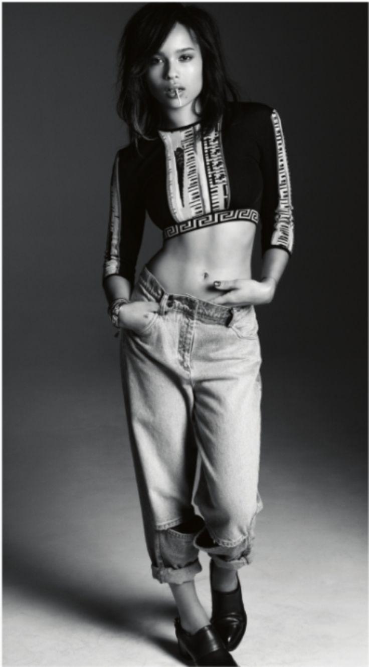 Zoe Kravitz For WONDERLAND Magazine