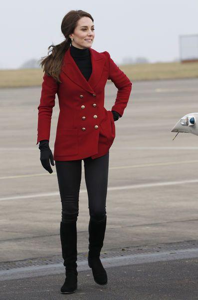 Kate Middleton À Wittering Le 14 Février 2017 6