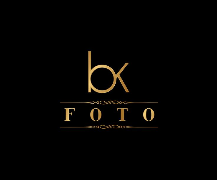 Logo and website design for BK Foto www.bkfoto.lt by Aizer Graphic Designer