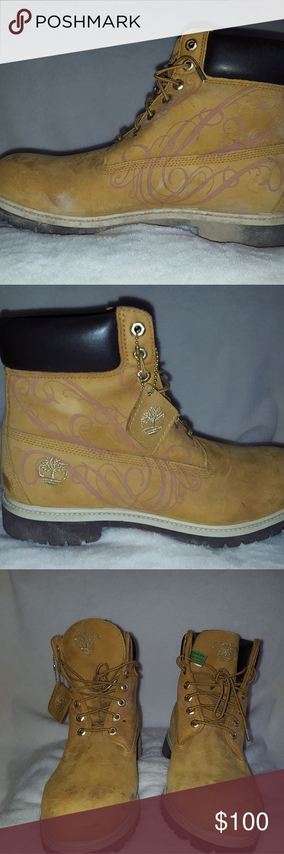 Mens Timberland boots Mens Timberland boots. Only worn a few times. Timberland Shoes Boots