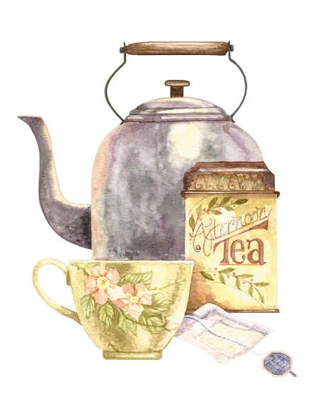 Afternoon Tea image painted by Diane Knott