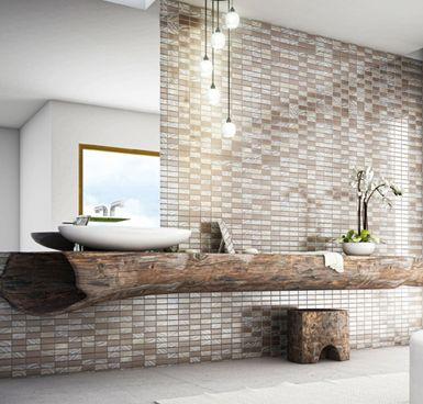 25 beste idee n over houten wastafel op pinterest zwart wit badkamers drijvende - Badkamer natuur hout ...