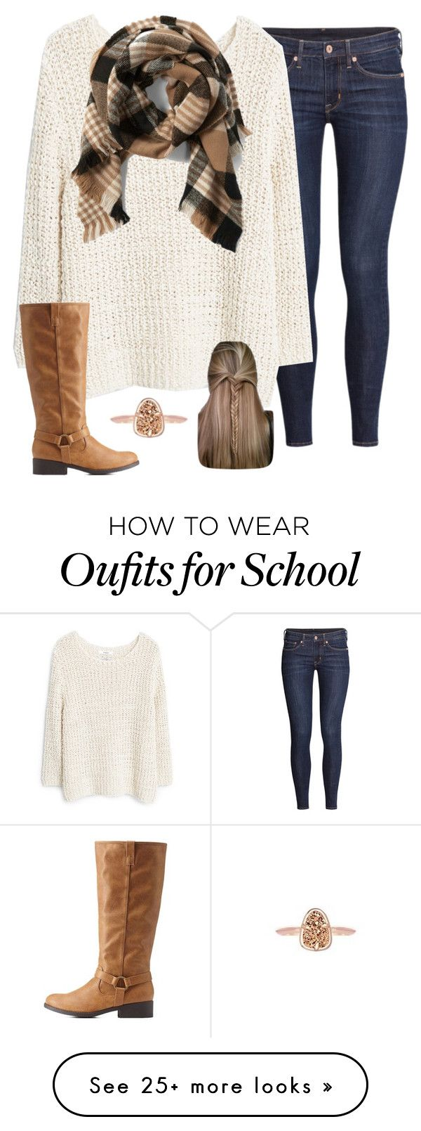 """I'm about done with school."" by madelynprice on Polyvore featuring H&M, MANGO, Charlotte Russe, Abercrombie & Fitch and Kendra Scott"