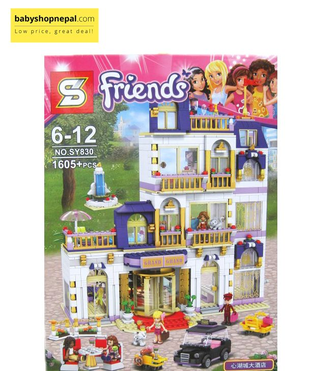Friends Heartlake Grand Hotel Toys Grand Hotel Lego Friends