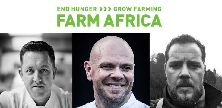 The Staff Cantine - top Michelin-starred chefs Ashley Palmer-Watts, Tom Kerridge and John Freeman provide food for Farm Africa fundraising event and share their top tips for a successful charity gala. #FarmAfrica