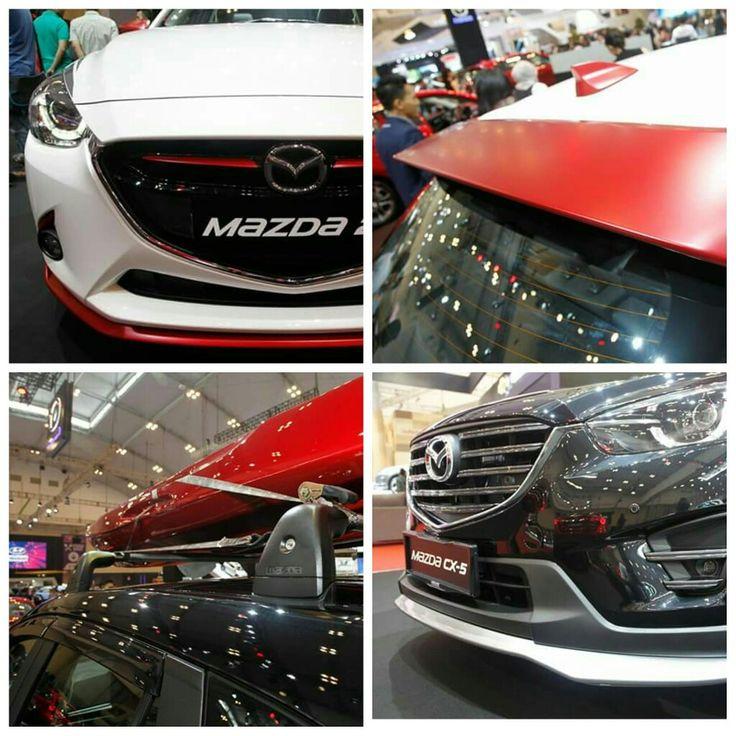 #Aksesoris Orisinil untuk #AllNewMazda2 dan #MazdaCX5 yg dipamerkan di #GIIAS2016 Ngga ngiler?? #Mazda #Bandung #Promo 082295000685 (Tlp & SMS) 08987900976 (WA & Line) www.mazdabanget.wordpress.com