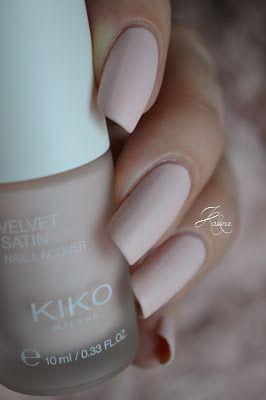 Kakine Nail Art: KIKO Misty Pink (Velvet Satin)
