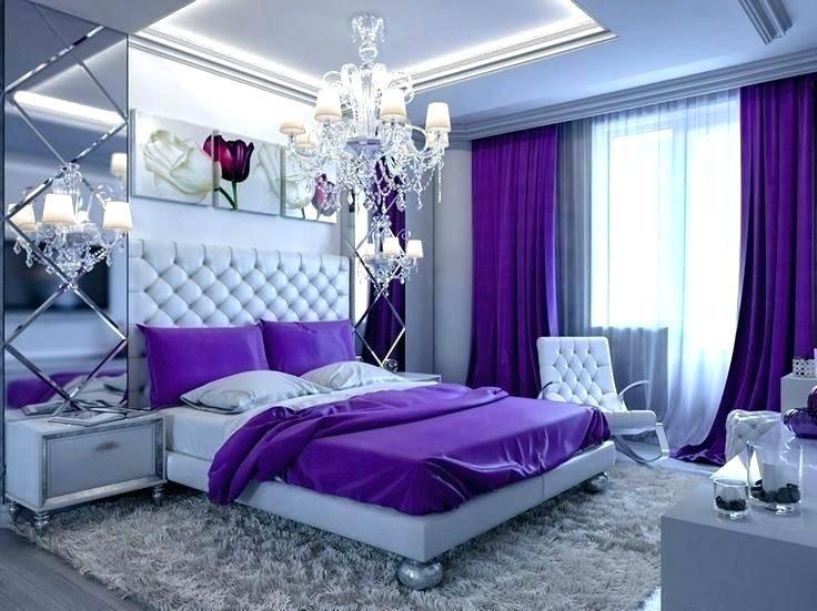 Purple And White Bedroom Purple Bedroom Decor Elegant Bedroom Design Purple Bedroom Walls