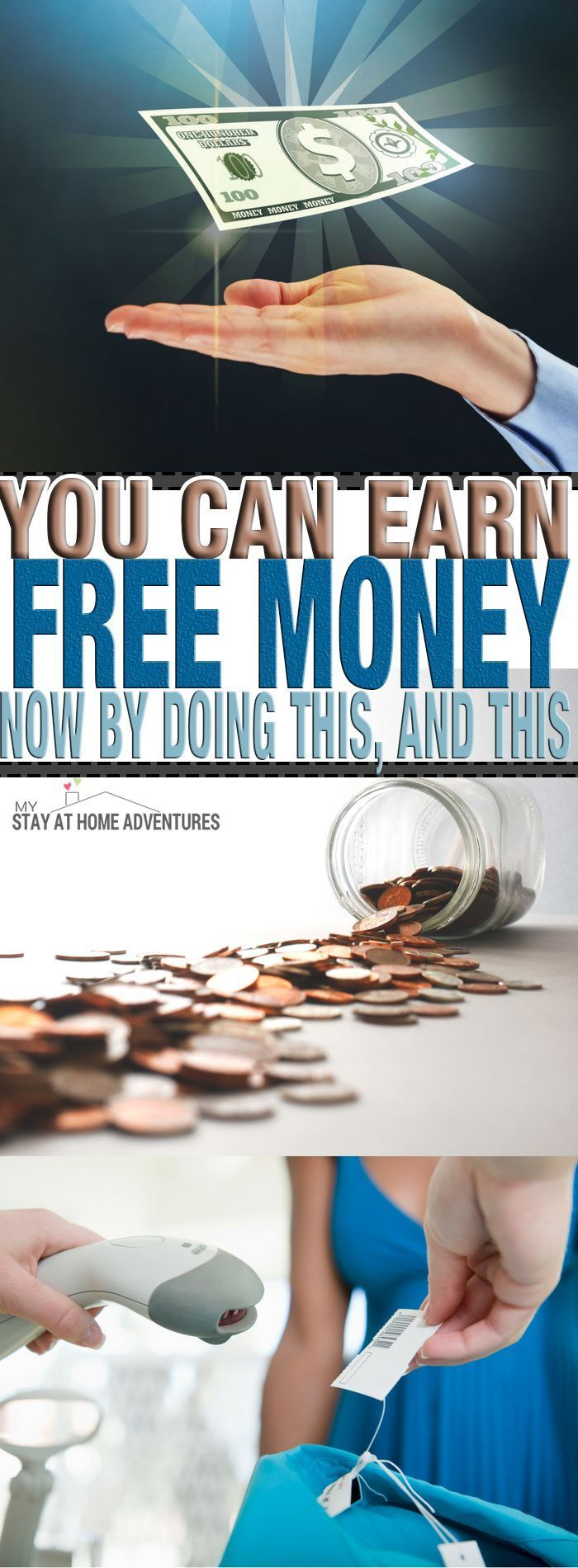 Who doesn't want free money and starting 2017 you can earn free money now and legit. Learn how I have score hundreds of dollars by doing this!