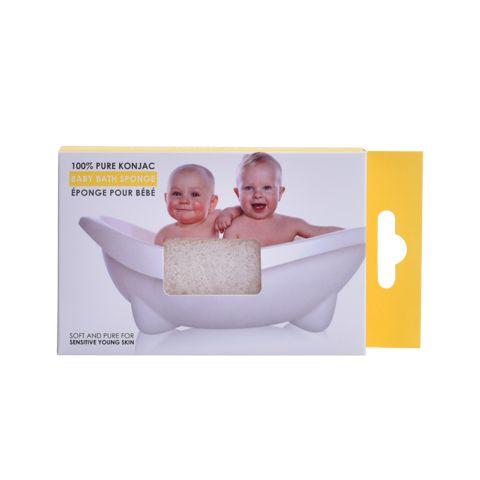 100% PURE BABY KONJAC BATH SPONGE<br>