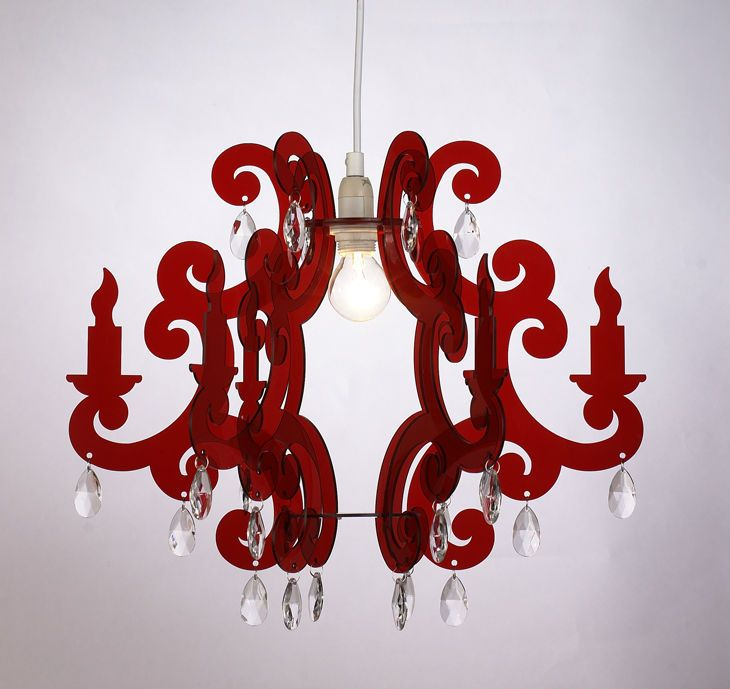 Red Acrylic Chandelier: 1000+ Ideas About Ceiling Light Diy On Pinterest