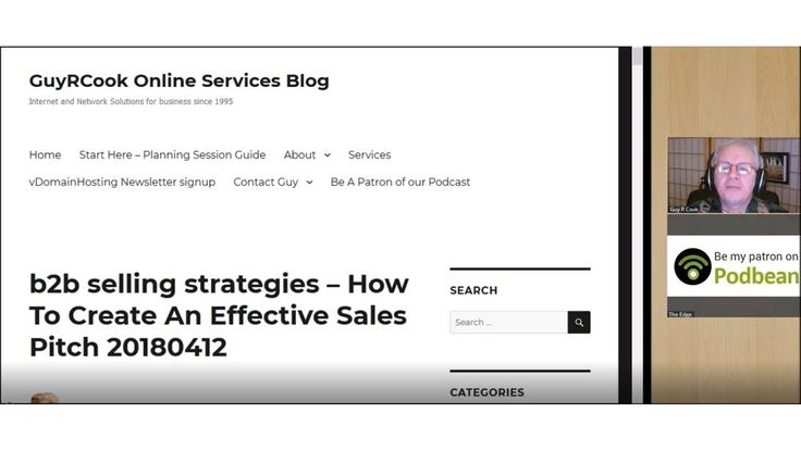 b2b selling strategies - How To Create An Effective Sales Pitch  In searching for b2b tips for this episode, here's what happened. https://blog.guyrcookonlineservices.com/b2b-selling-strategies-how-to-create-an-effective-sales-pitch/