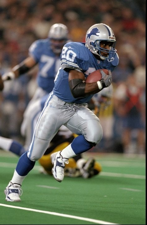 a biography of barry sanders a football player Barry sanders was born on july 16, 1968 in wichita, kansas, usa he is an   nfl monday night football himself - detroit lions running back (1990-1998.