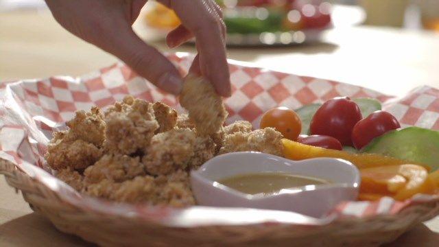 Poulet pop corn | Cuisine futée, parents pressés