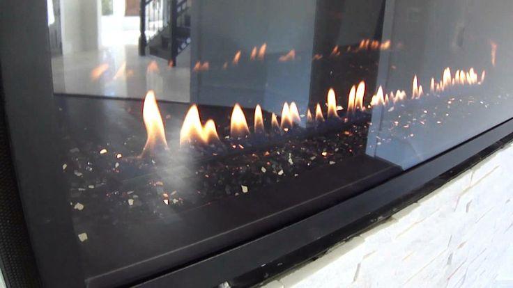 Lennox Hearth Products linear fireplace LDV42