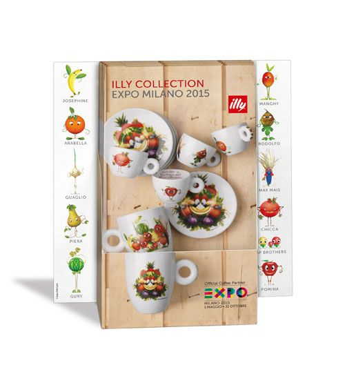 EXPO 2015 - illy Collection Mascotte on Behance