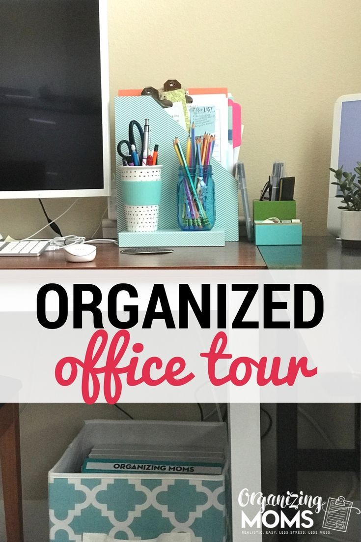 An amazing transformation! This office went from disaster to organized. Incorporates a lot of ideas from the book Getting Things Done (GTD). Definitely saving these ideas! #organizedoffice #gettingthingsdone #officetour