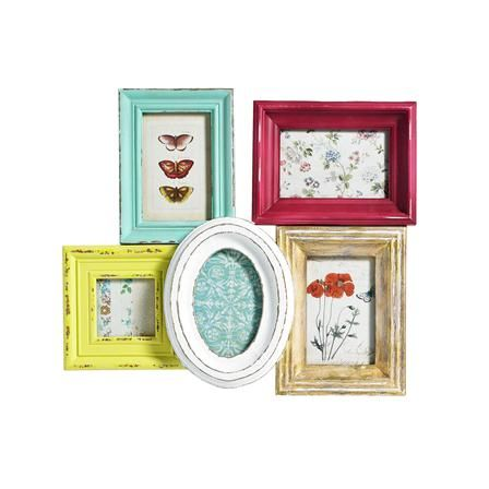 Love this as a centre piece to work out from with other colourful frames to brighten up my hall!