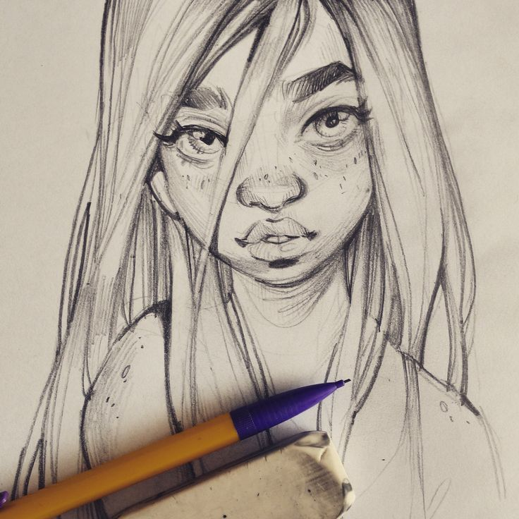 artblog of lois van baarle | www.loish.net . Character Sketch / Drawing