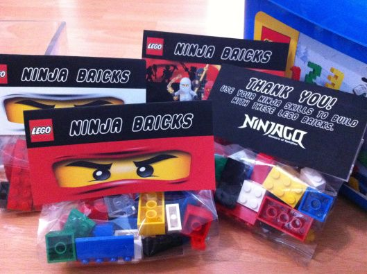 VanChic M.D - Lego Ninjago Birthday Party Part 2