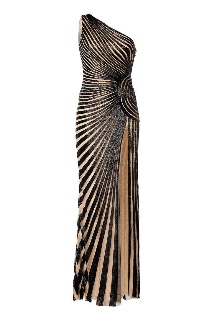 ZUHAIR MURAD Beaded Evening Gown