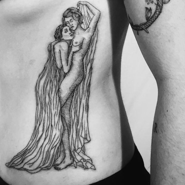 312 best pvris images on pinterest lynn gunn heaven and for Topless tattoo girls