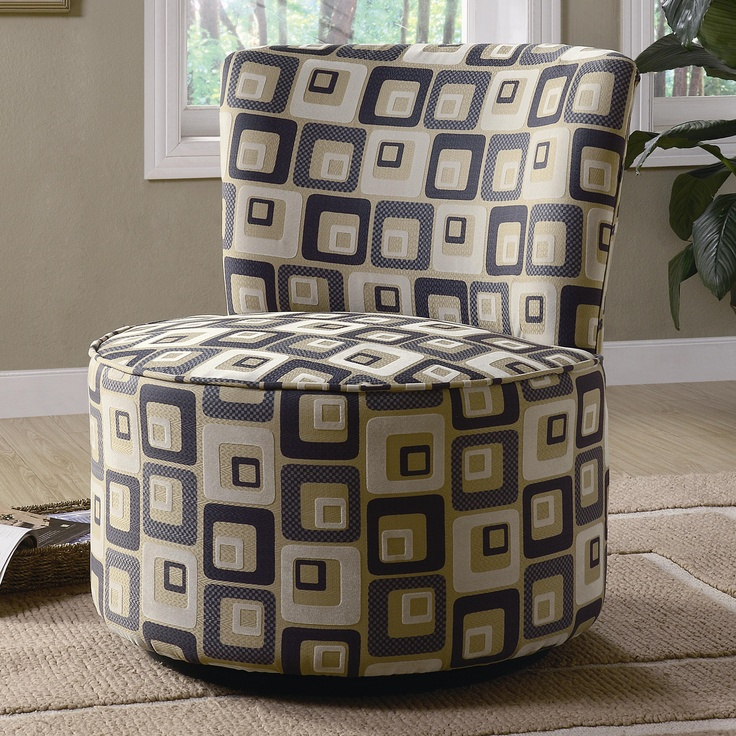 accent seating swivel chair by coaster