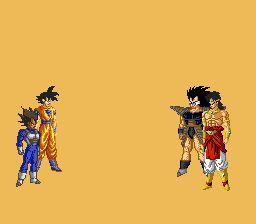 DBZ Goku and Vegeta vs Raditz and Broly - www.viralpx.com