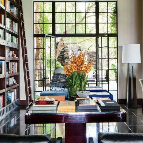 Movie Producer Peter Guber's Los Angeles Home, decorated by Nancy Heller - Architectural Digest: Library