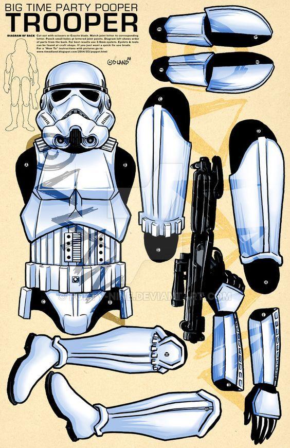 Jointed storm trooper by forty-nine.deviantart.com: