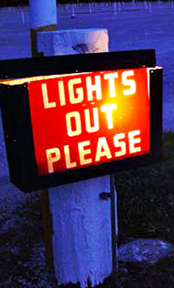 Drive In Movie Theaters Lit up Boomer Nights - pic by drp flickr commons - CLICK TO READ - http://boomerinas.com/2012/05/drive-in-movie-theaters-lit-up-boomer-nights/