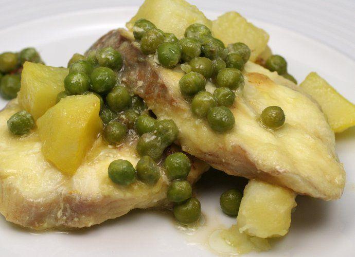 Cazón en amarillo para #Mycook http://www.mycook.es/cocina/receta/cazon-en-amarillo